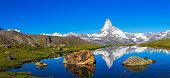 Matterhorn at sunny a day