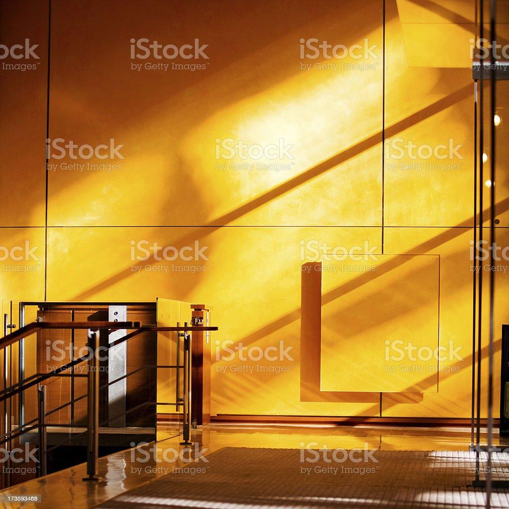 Sunny Entrance royalty-free stock photo