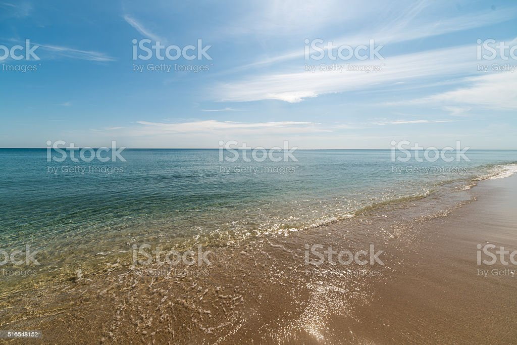 Sunny Florida Oceanscape 23 stock photo