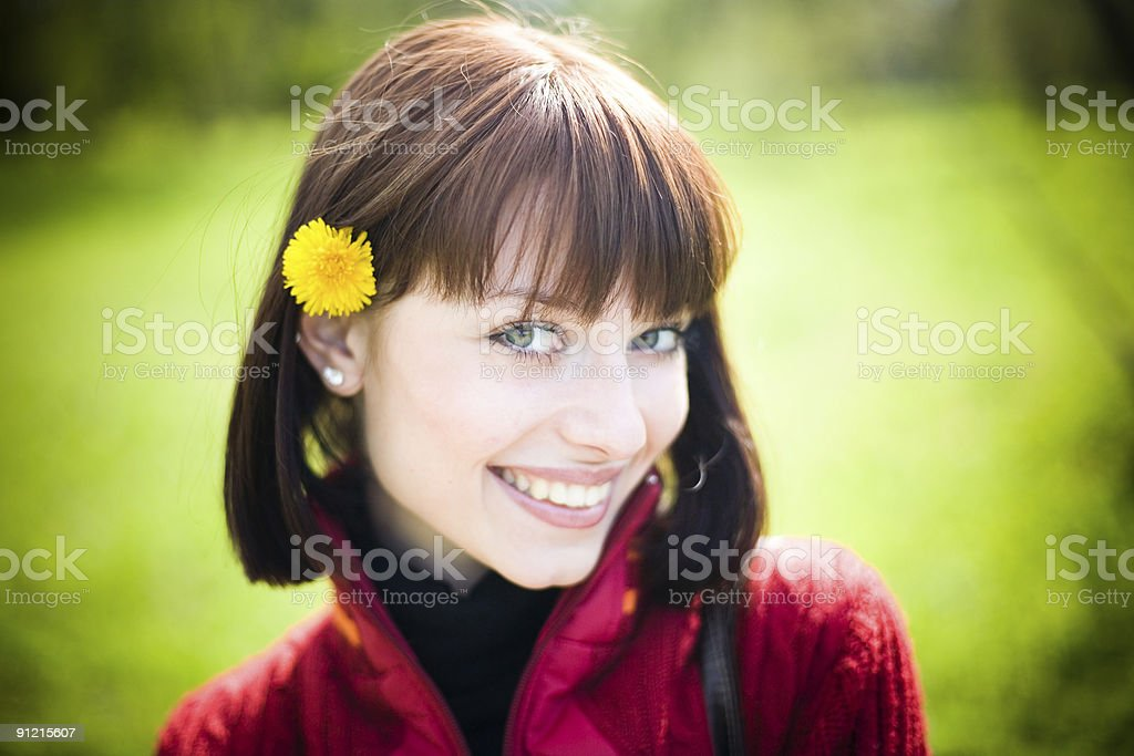 sunny girl royalty-free stock photo