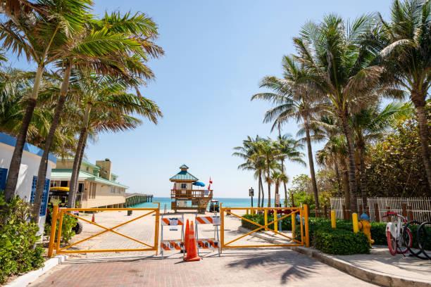 Sunny Isles Beach closed due to Coronavirus Covid 19