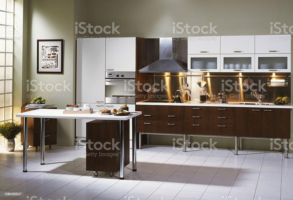 Sunny Kitchen stock photo