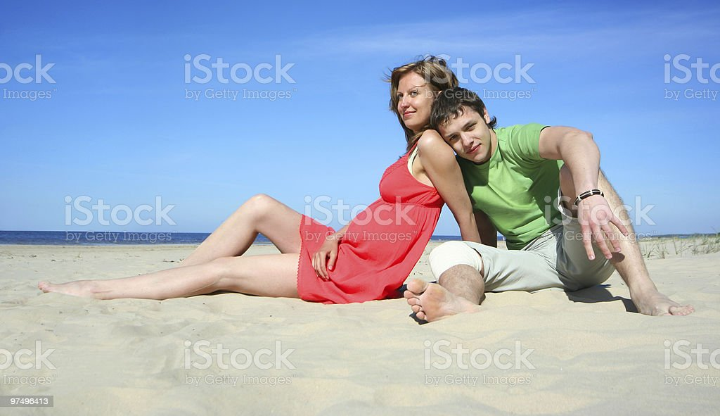sunny love royalty-free stock photo