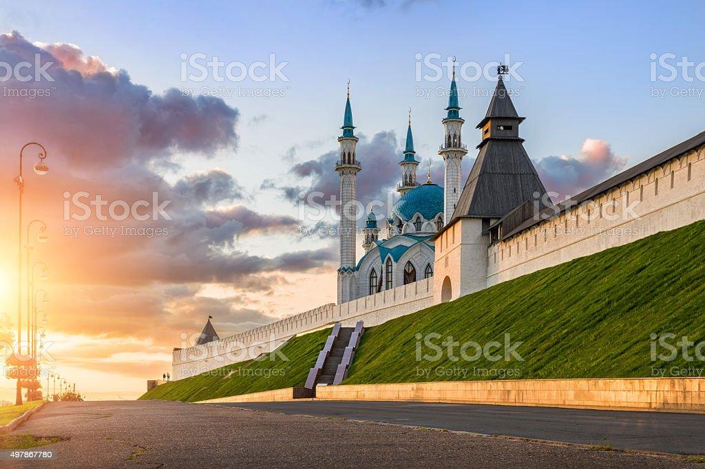 Sunny Mood of Kazan stock photo