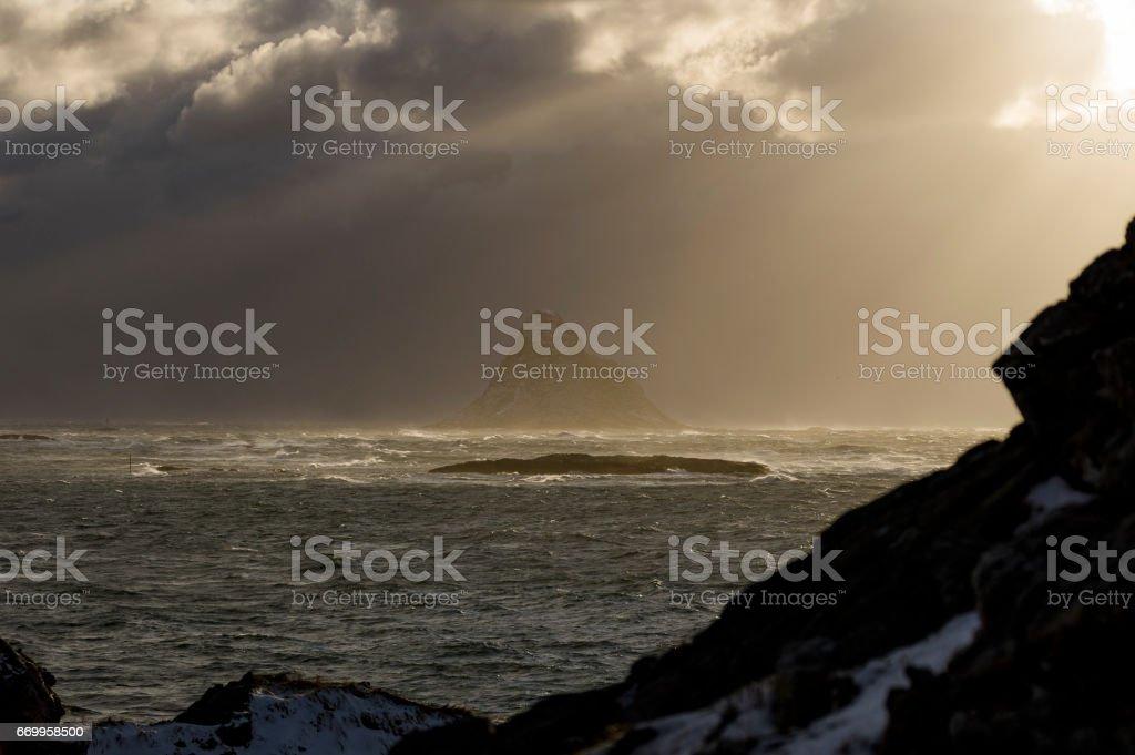 Sunny Peak stok fotoğrafı