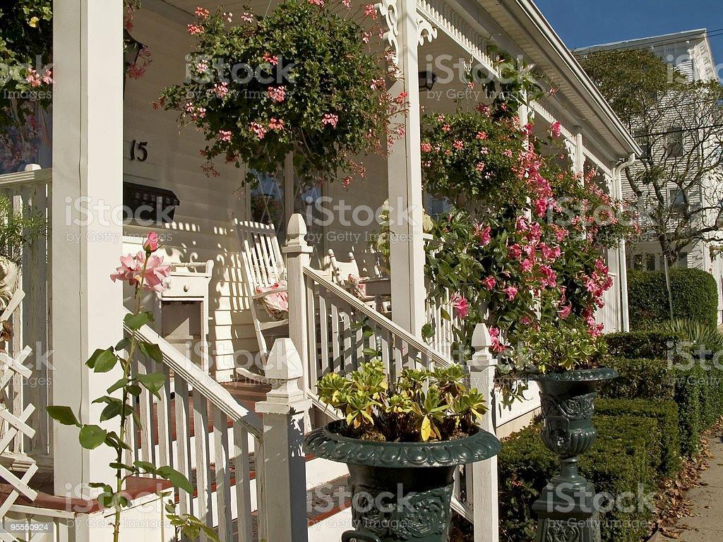 Sunny Porch royalty-free stock photo