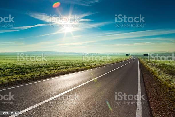Photo of Sunny road
