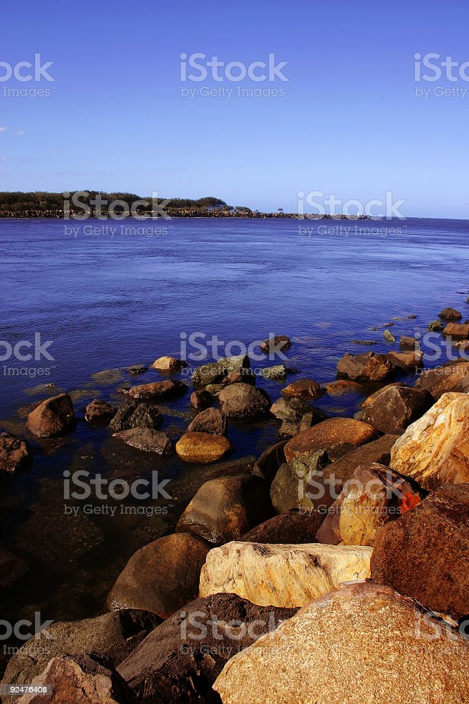 Sunny Rocks royalty-free stock photo