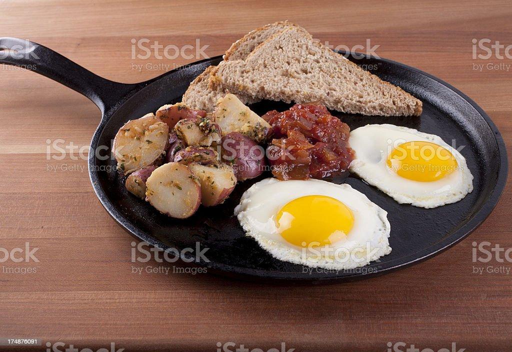 Sunny Side Breakfast royalty-free stock photo