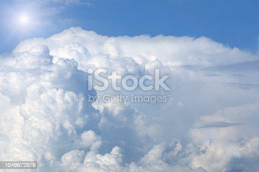 istock Sunny sky background 1049672976