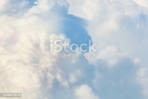 479184640 istock photo Sunny sky background 1049673518