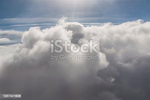 479184640 istock photo Sunny sky background 1057441608