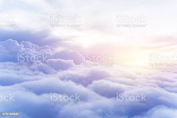 Photo of Sunny sky background