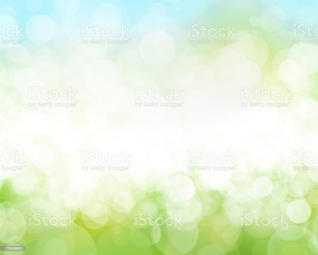 Sunny sky blurred bokeh background royalty-free stock photo
