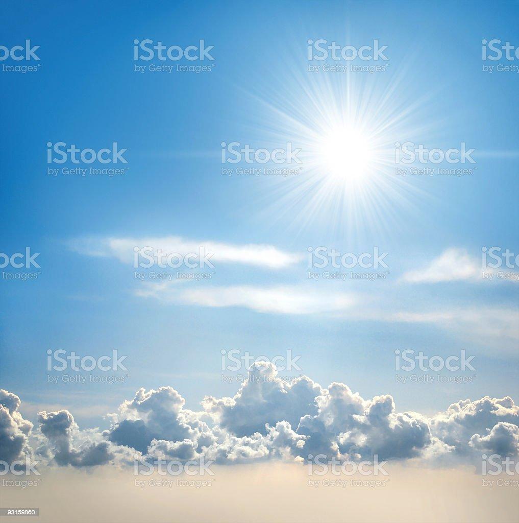 Sunny Sky royalty-free stock photo