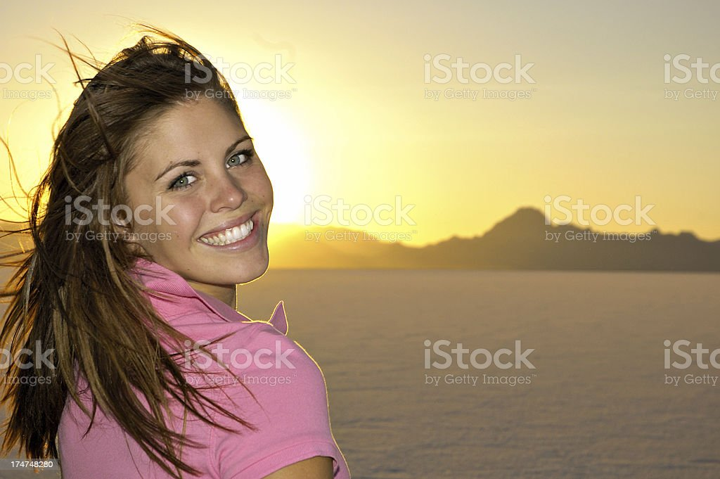 Sunny Smile royalty-free stock photo