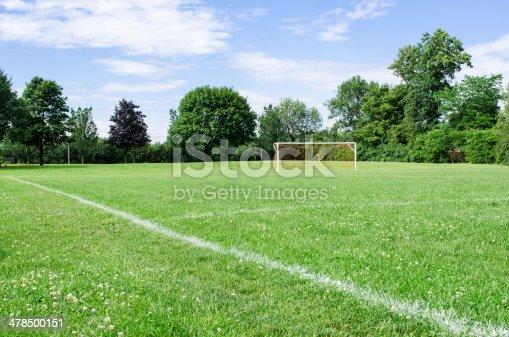 istock Sunny Soccer Field 478500151