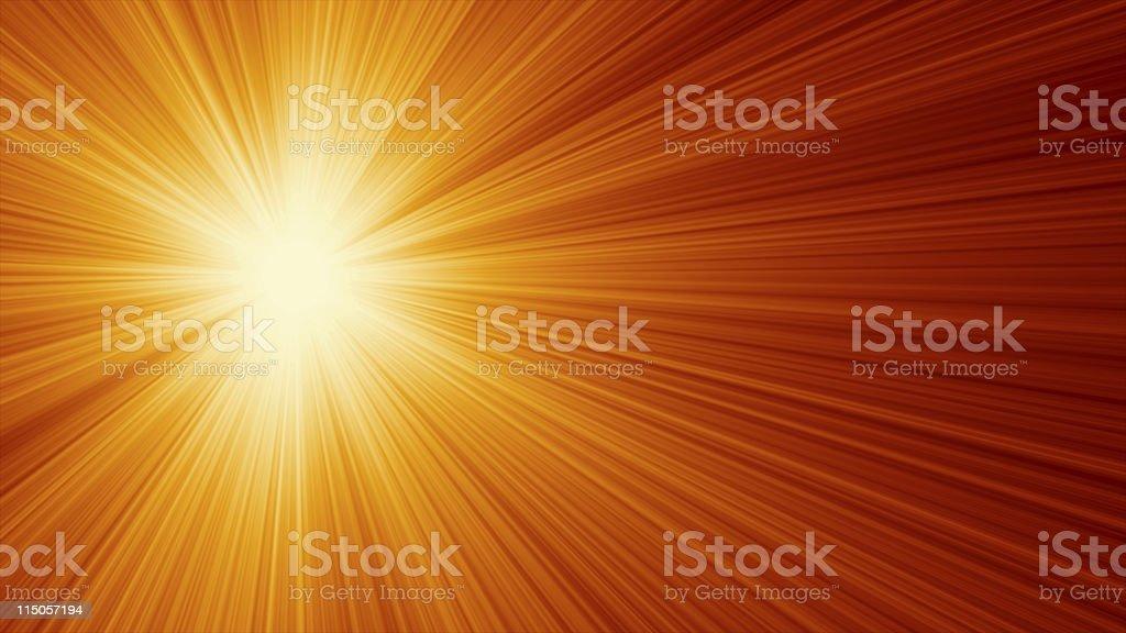 Sunny summer background royalty-free stock photo