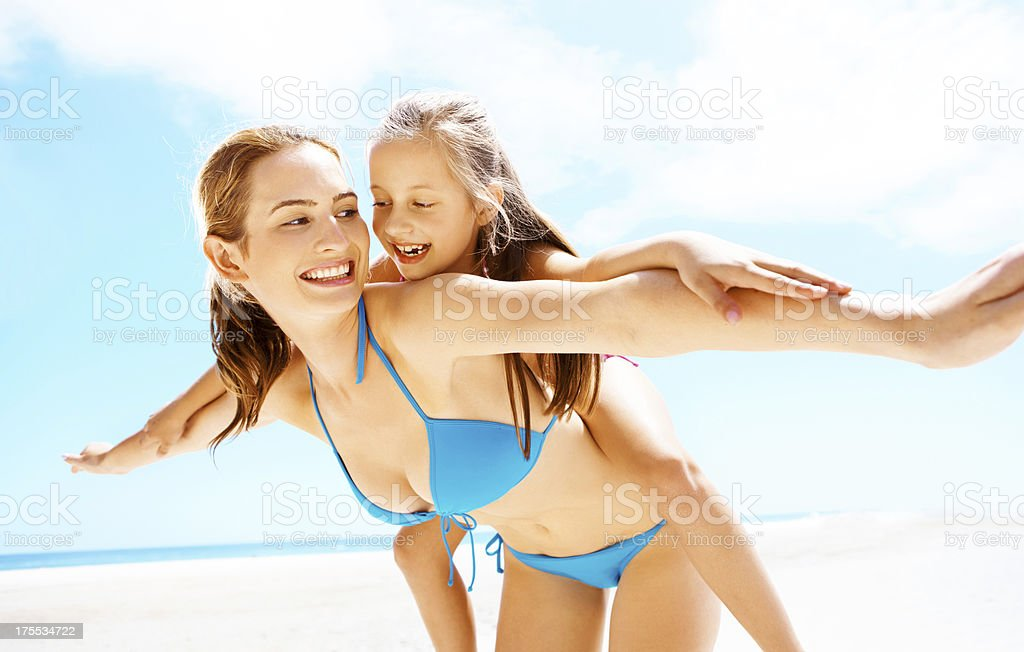 Sunny summer fun royalty-free stock photo