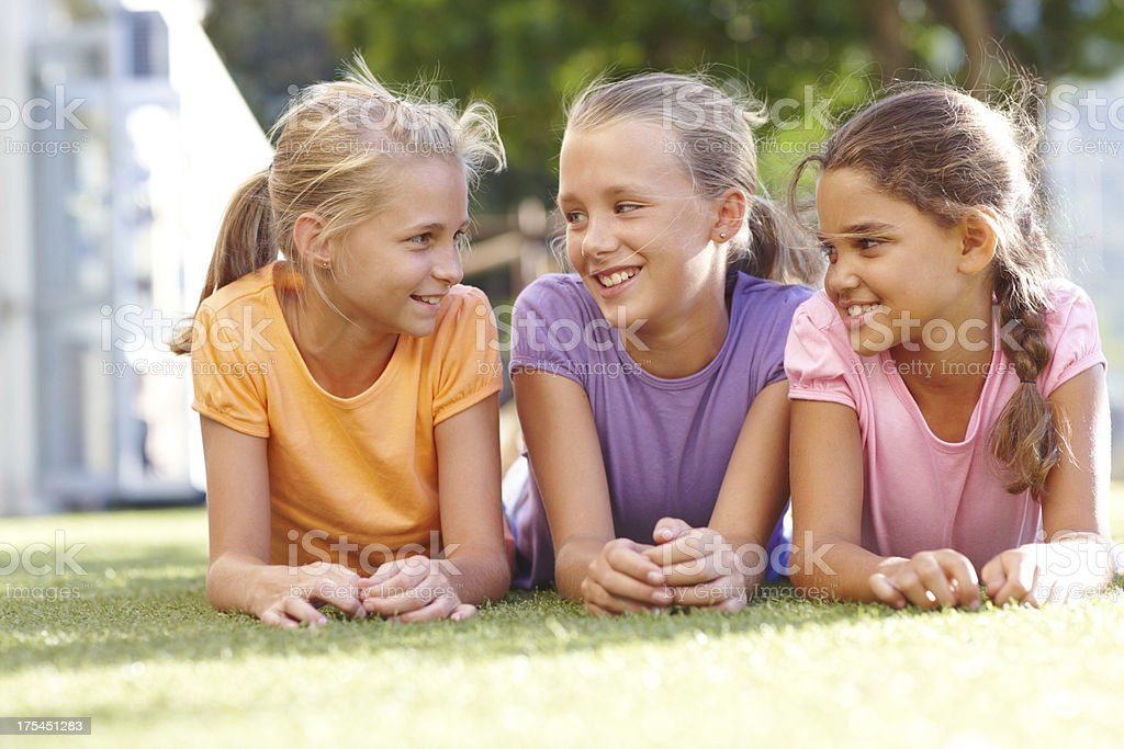 Sunny summer stories royalty-free stock photo