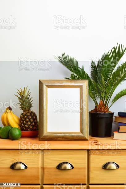Słoneczna Tropikalna Letnia Koncepcja Wnętrza - zdjęcia stockowe i więcej obrazów Ananas