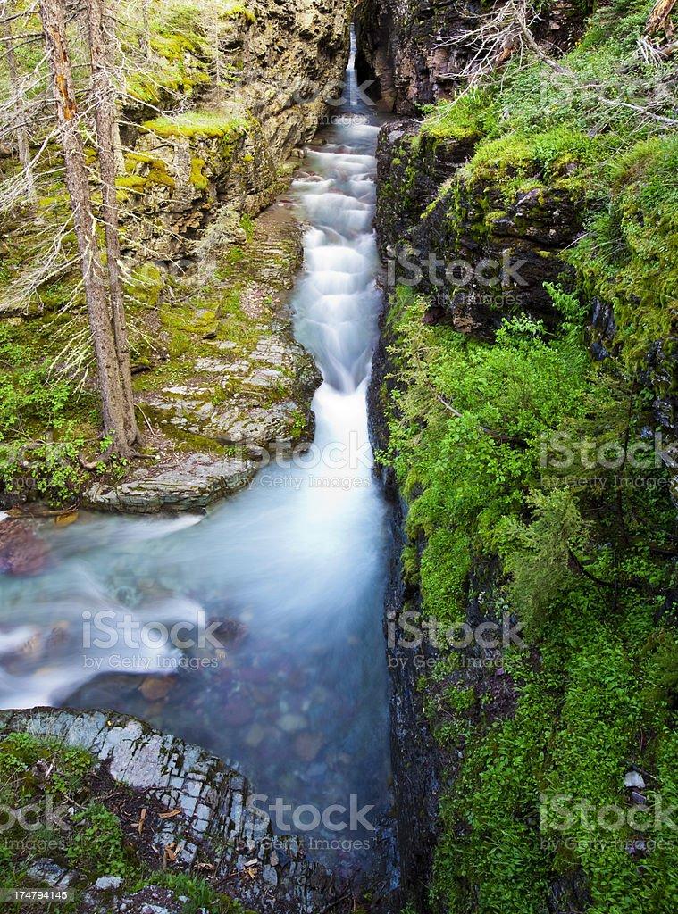 Sunrift Gorge at Sunrise royalty-free stock photo