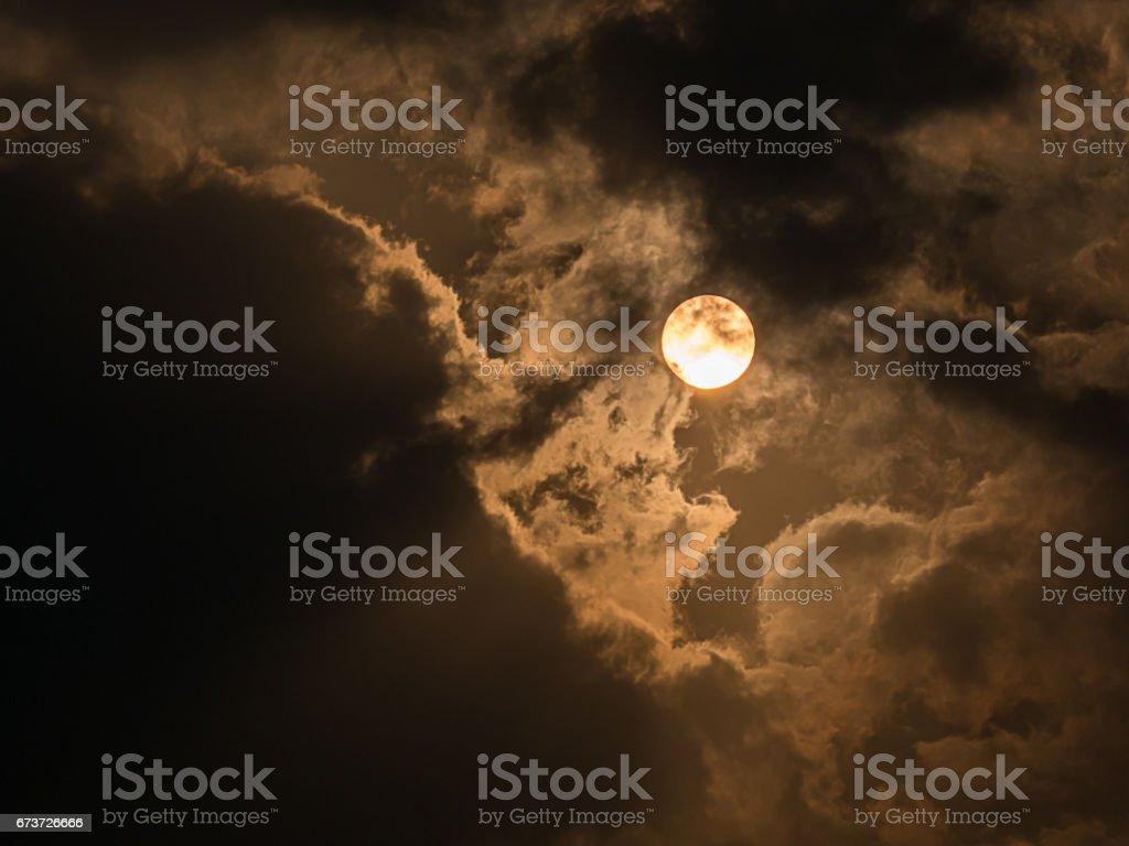 lever du soleil et pourrait photo libre de droits