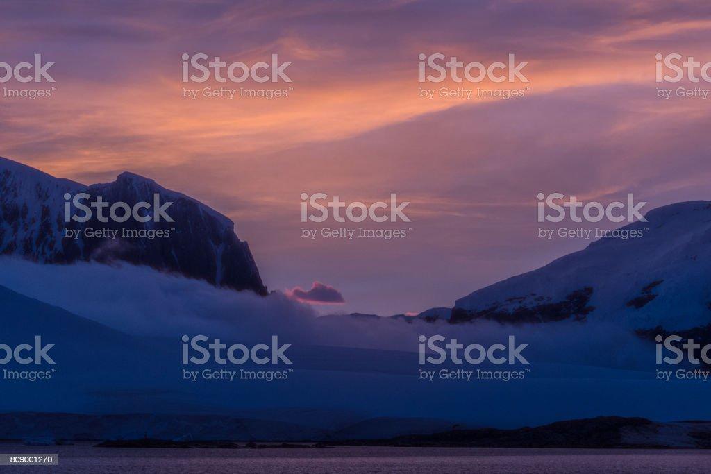 Sunrise Antarktis 2 – Foto