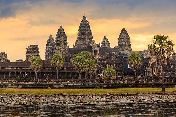 sunrise at Ankor Wat, Siem Reap, Kambodscha – Foto