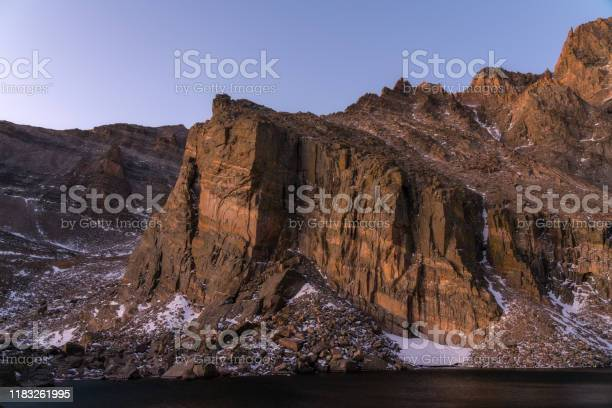 Photo of Sunrise at Chasm Lake - Rocky Mountain National Park