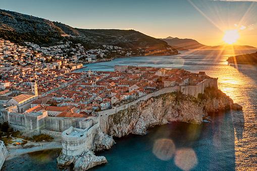 Sunrise at Dubrovnik
