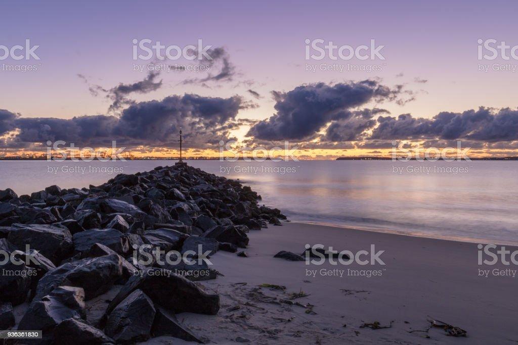 Sunrise at Lady Robinsons Beach, Brighton-Le-Sands, Sydney