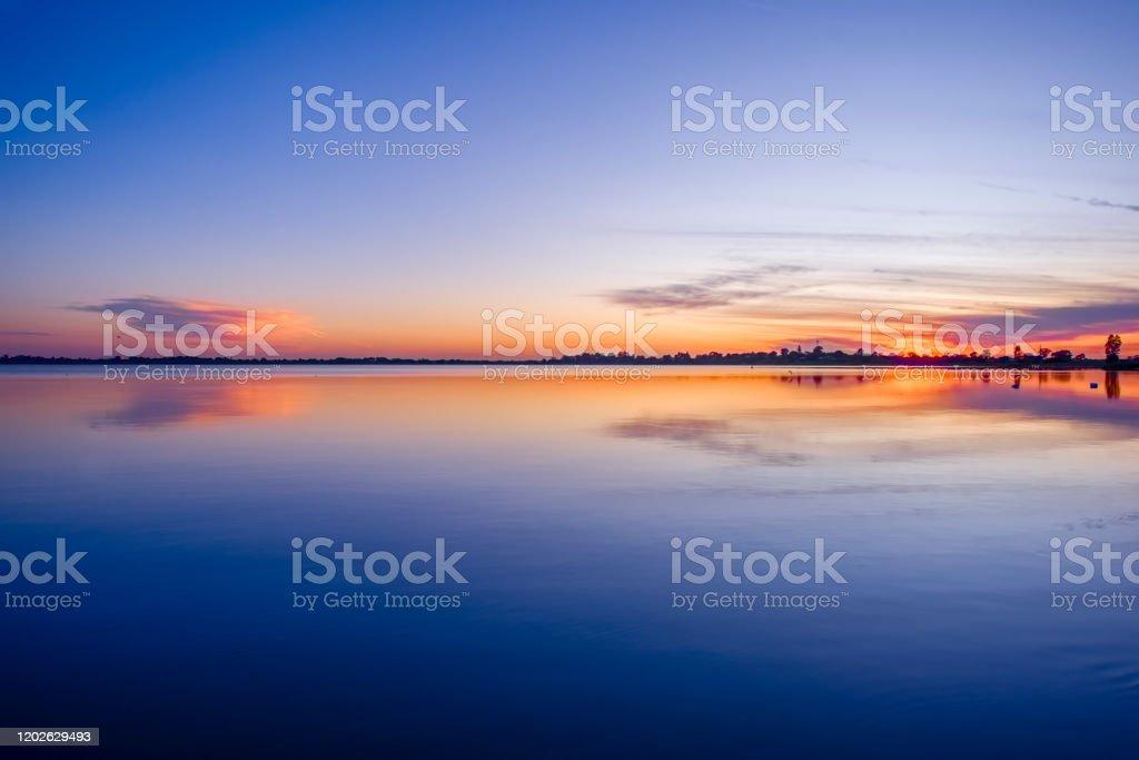 Sunrise at Lake Boga - Royalty-free Australia Stock Photo