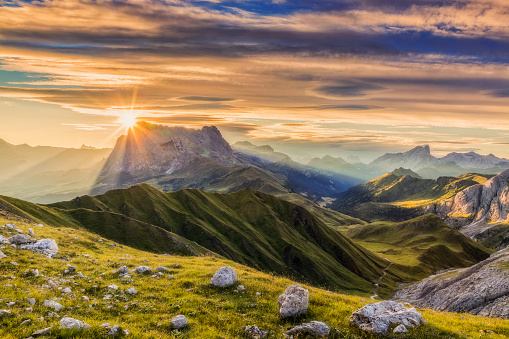 Dolomites, European Alps, Langkofel, Mountain, Mountain Range