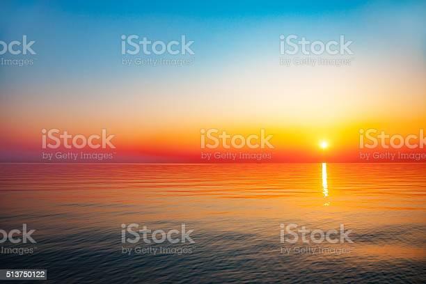 Photo of Sunrise at sea
