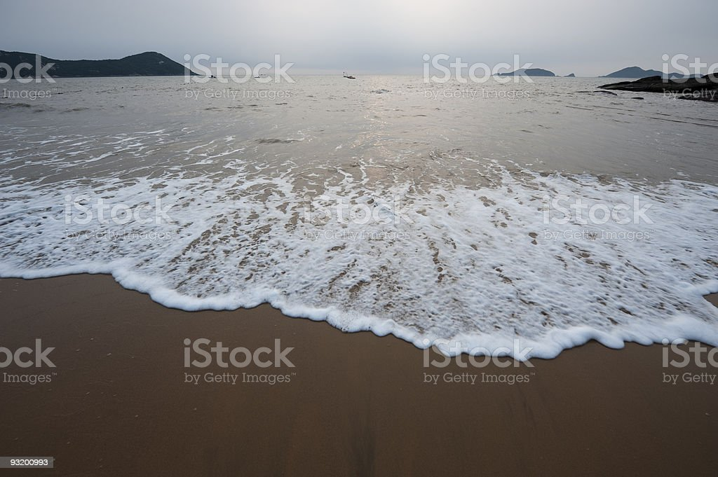 Sunrise at sea. royalty-free stock photo