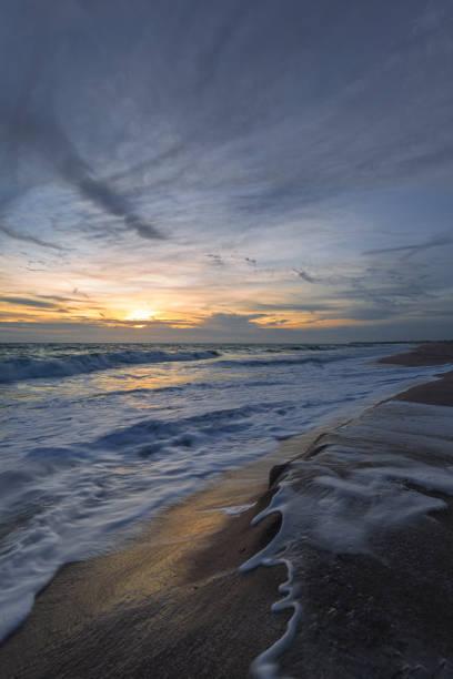 Sonnenaufgang am Atlantischen Ozean, Florida, USA – Foto