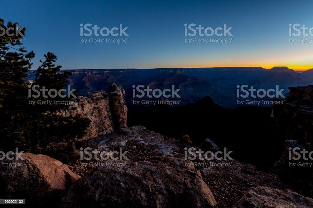 Sunrise at the Magnificent Grand Canyon in Arizona - Royalty-free Arizona Stock Photo