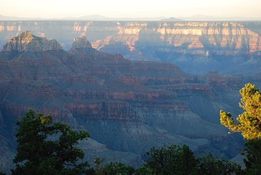 Sunrise at the North Rim - Grand Canyon