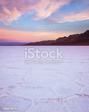 The lowest point in North America and hottest place on Earth, these salt flats make up a portion of the valley with interesting shapes and beautiful views of the valley.