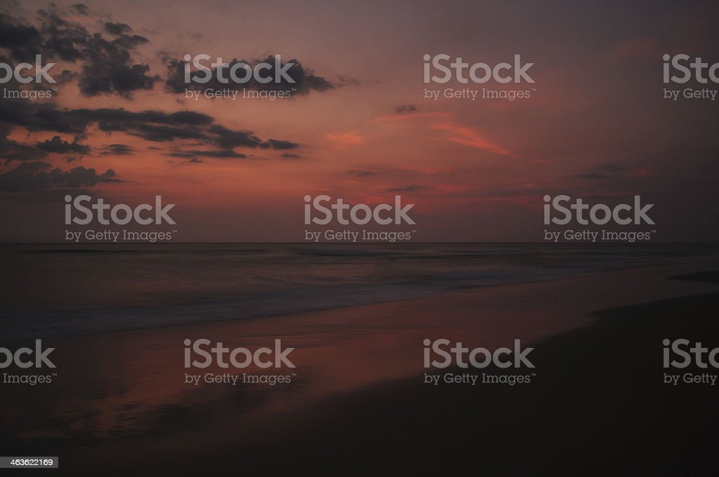 Sunrise Beach Early Morning royalty-free stock photo