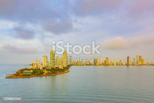 1148861090istockphoto Sunrise, Cartagena, Colombia 1200802042