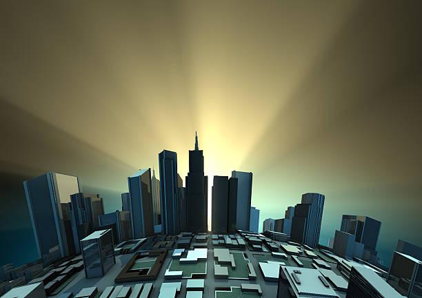 Sunrise Stadt – Foto