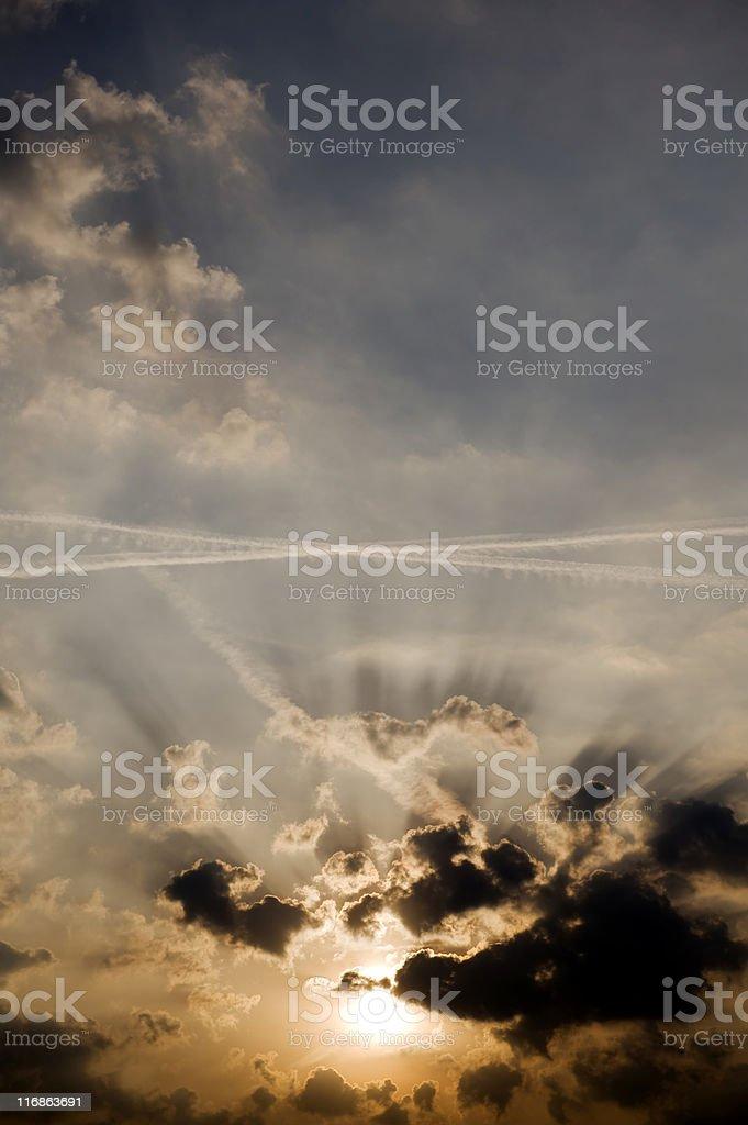 Sunrise. Color Image royalty-free stock photo