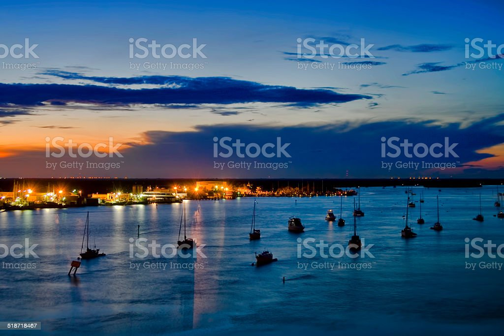 Sunrise -  Fort Myers Beach stock photo