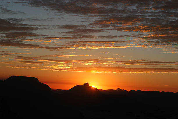 sunrise grand caynon stock photo