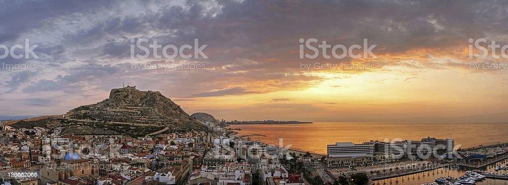 Sonnenaufgang in Alicante – Foto