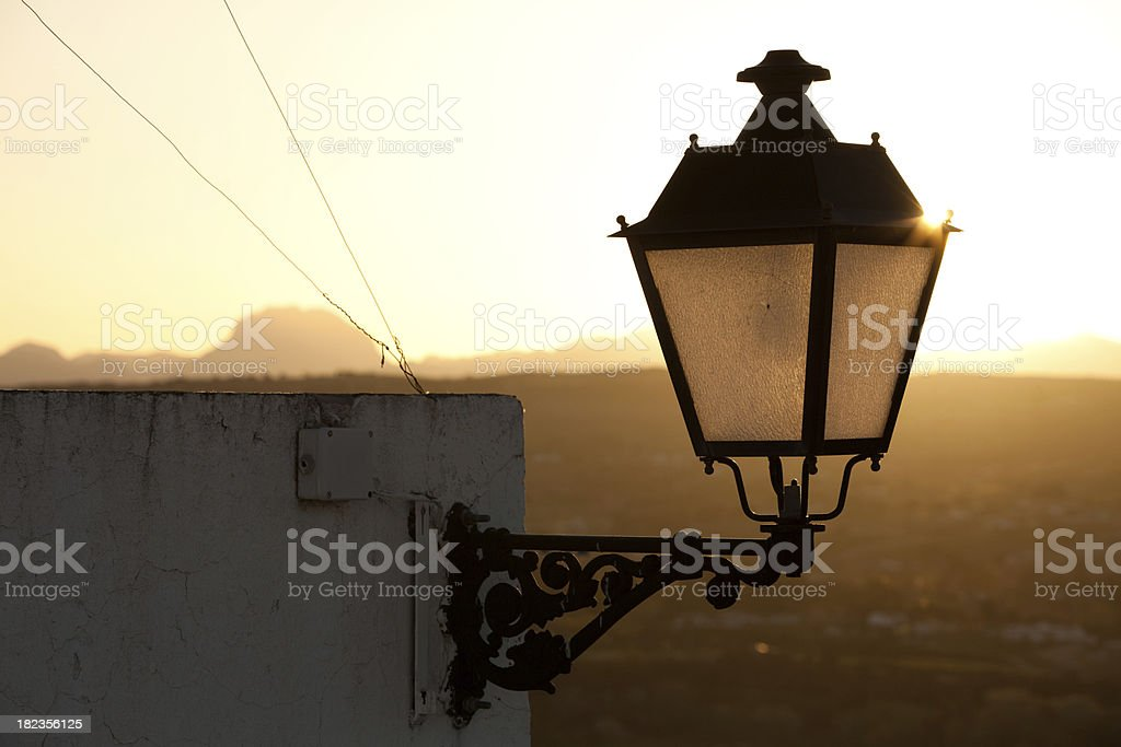 Sunrise in Andalucia, Spain royalty-free stock photo