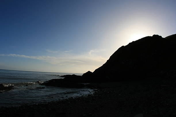 Sunrise In Bray stock photo