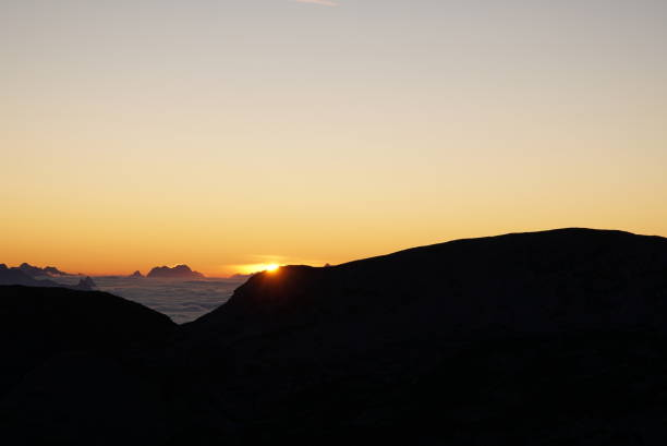 Sunrise in Dachstein Mountains – Foto